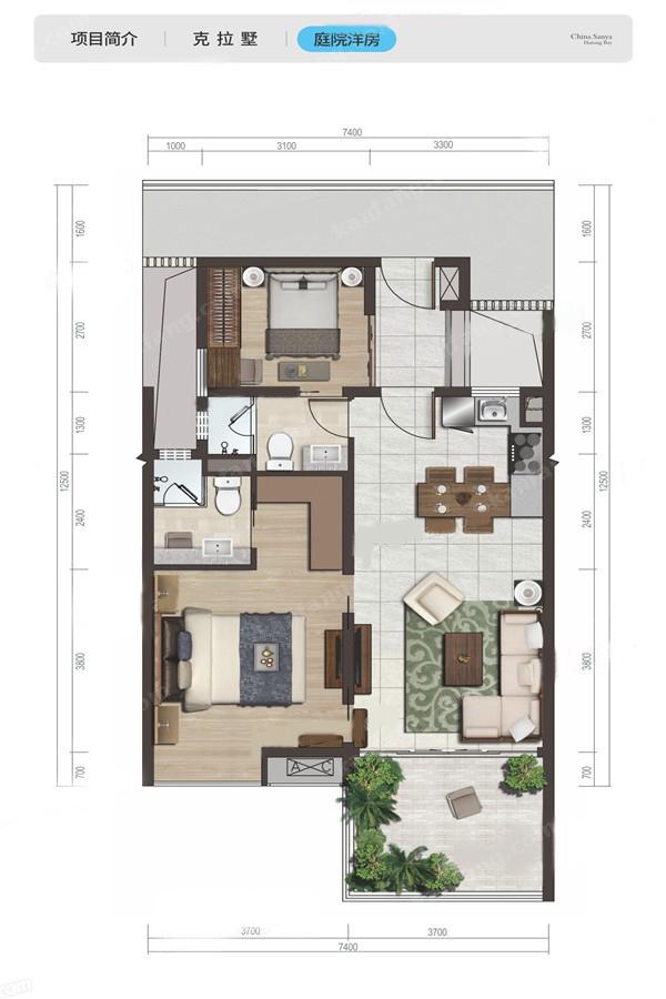 2-5层洋房户型
