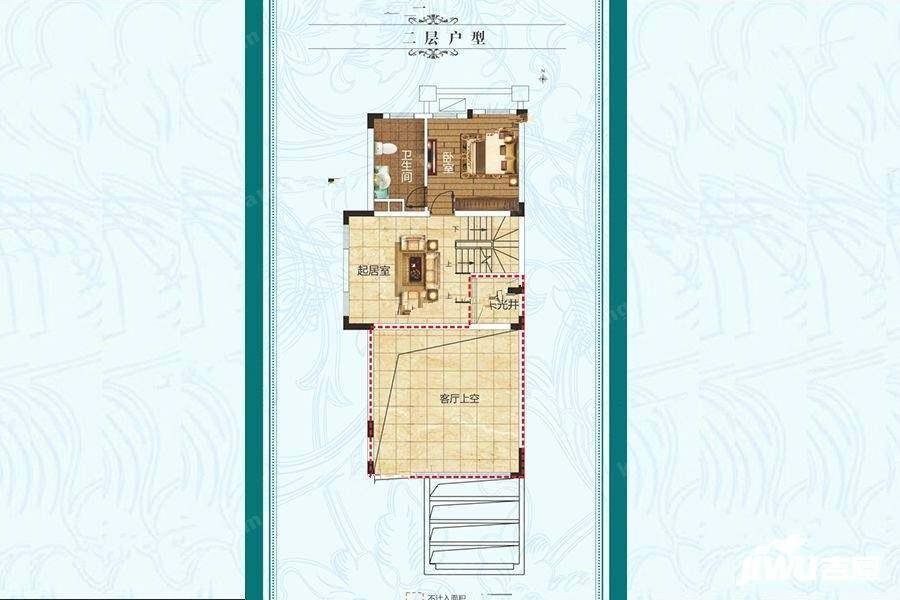 二层户型3厅