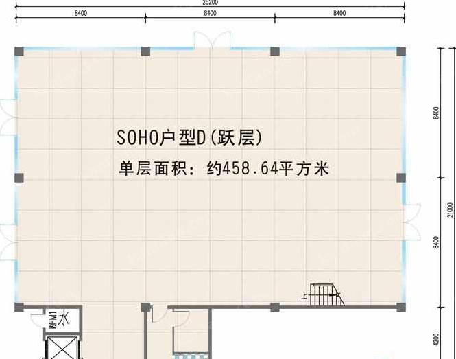 夏日国际商业广场SOHO户型D户型