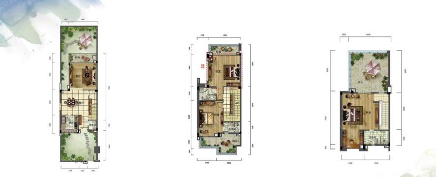 泰式联排别墅D2户型