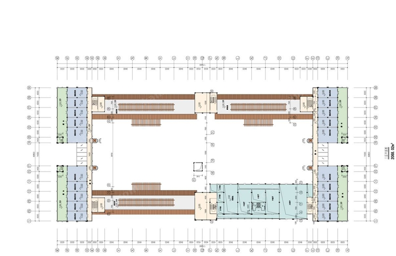 兴隆风情街三层商铺平面图