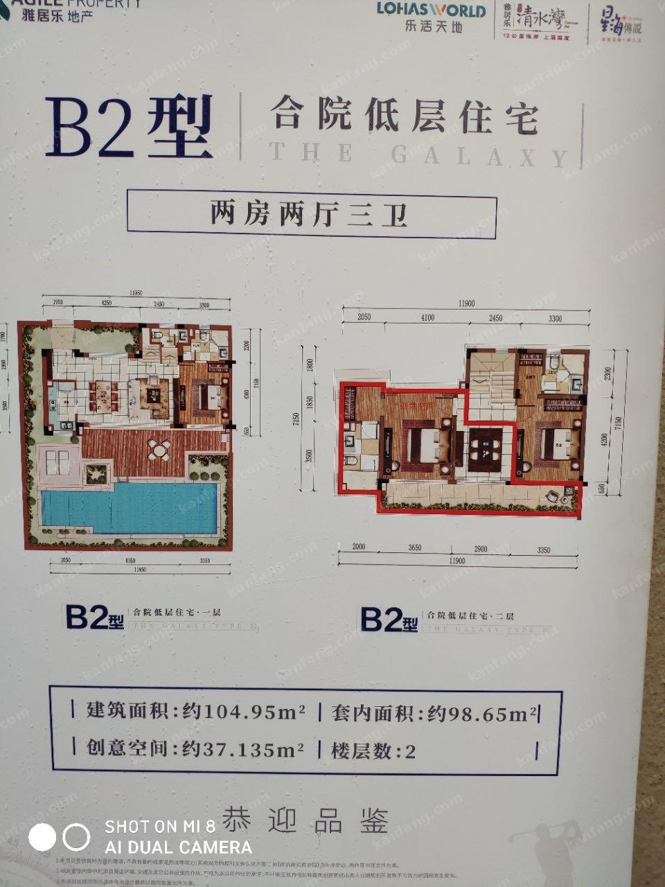 B2型 合院低层住宅