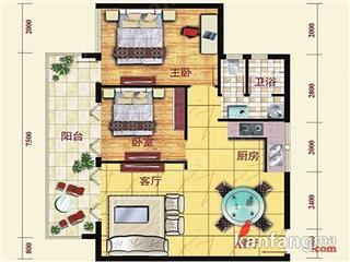 公寓G1-A户型